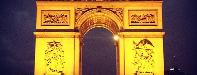 Arc de Triomphe is one of Paris.