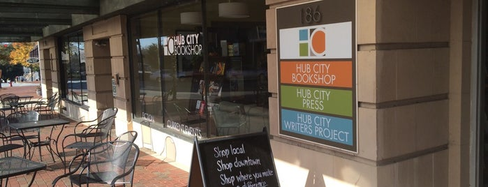 Hub City Bookshop is one of Downtown Spartanburg Small Biz.