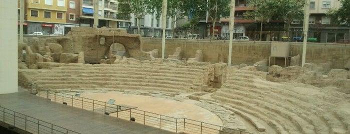 Teatro Romano is one of Sitios por visitar en Zaragoza.