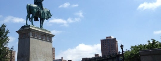 "George Washington Monument is one of ""Be Robin Hood #121212 Concert"" @ New York!."