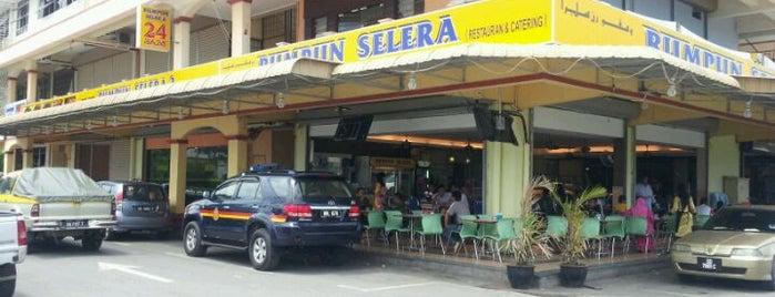 """Rumpun Selera is one of Ney's """"Dine-Eat-Hangout"""" - Food & Beverages."""