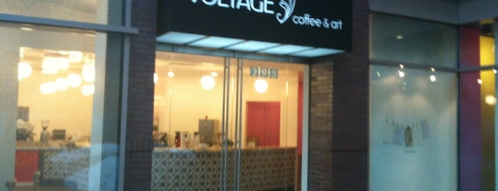Voltage Coffee & Art is one of Coffee shops in Boston & Cambridge.