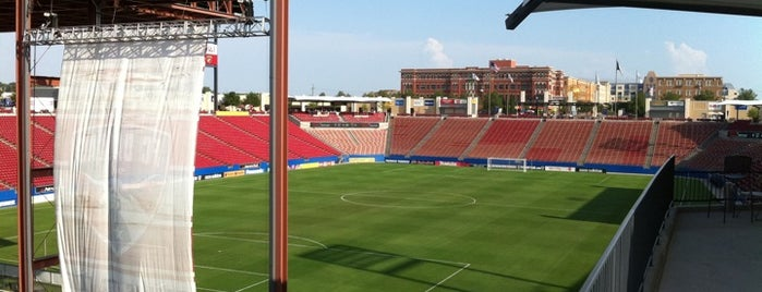 Toyota Stadium is one of MLS Stadiums.