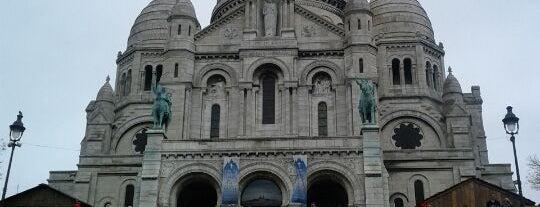 Basilique du Sacré-Cœur de Montmartre is one of World Sites.
