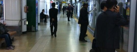 삼성역 (Samseong Stn.) is one of Subway Stations in Seoul(line1~4 & DX).