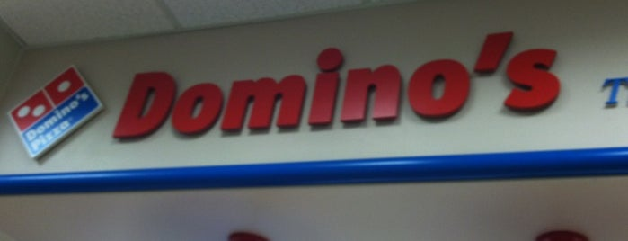 Domino's Pizza is one of Places I Should Be Mayor Of.