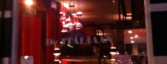 De Italiaan is one of My favorites in Amsterdam.