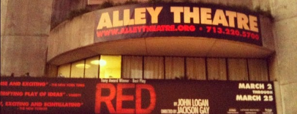 Alley Theatre is one of Houston to-do.