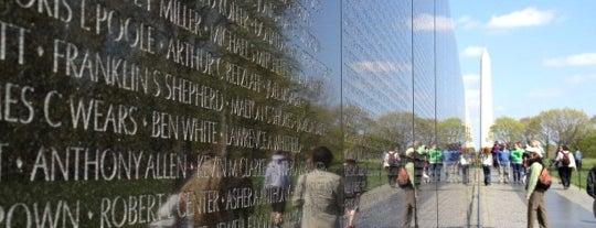 Vietnam Veterans Memorial is one of National Parks.