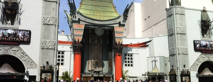 TCL Chinese Theatre is one of L.A..