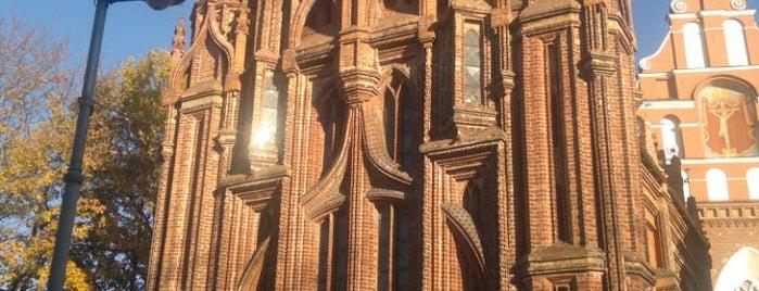Šv. Onos Bažnyčia   St Anne's Church is one of Guide to Vilnius's best spots.
