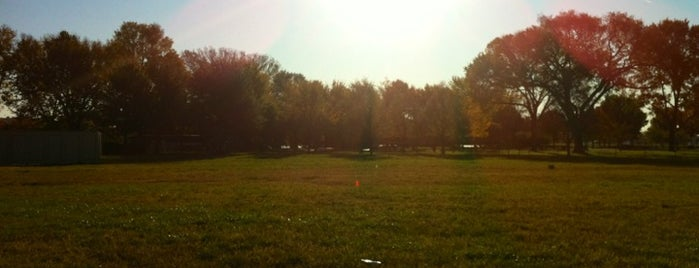 Softball Fields by Lincoln Memorial is one of the ususal.