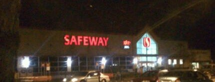 Safeway is one of Frequent Pit Stops.