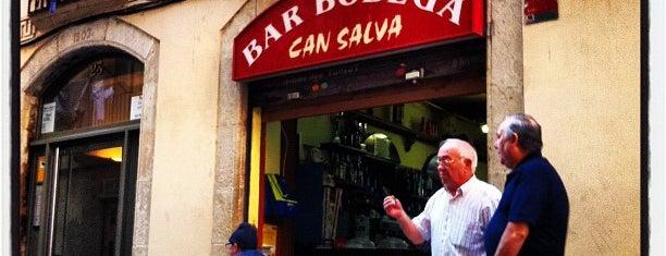 Bodega Can Salva is one of En Ocasiones Veo Bares Barcelona.