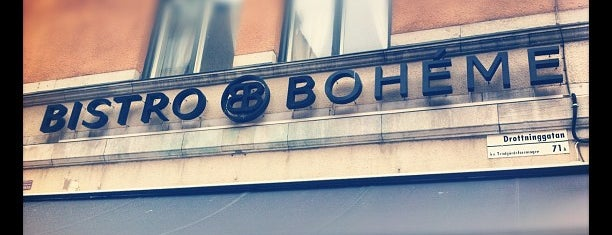 Bistro Boheme is one of All-time favorites in Sweden.