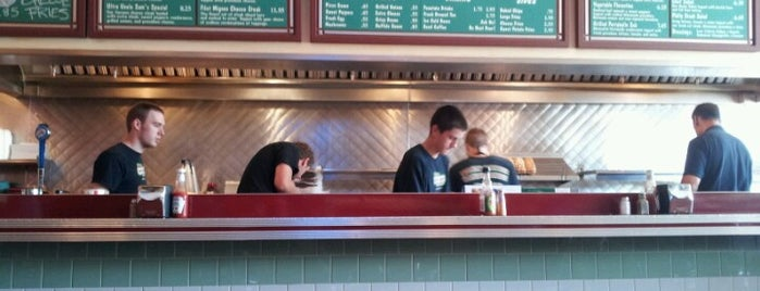 Uncle Sam's Sandwich Bar is one of I spy with my 4sq eye.