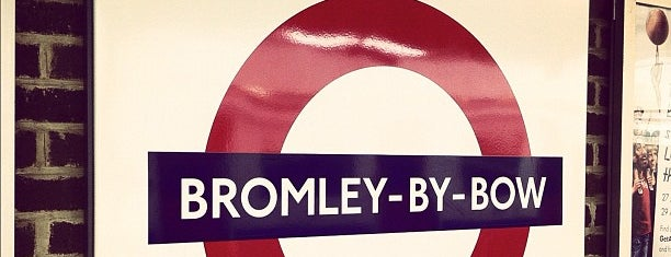 Bromley-By-Bow London Underground Station is one of Tube Challenge.