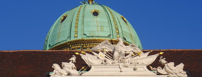 Hofburg is one of Unsere TOP Empfehlungen für Wien.