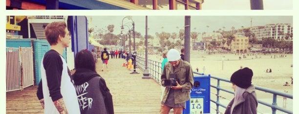 Santa Monica Pier is one of L.A..