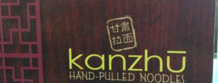 Kanzhū Hand-Pulled Noodles is one of My fave places.