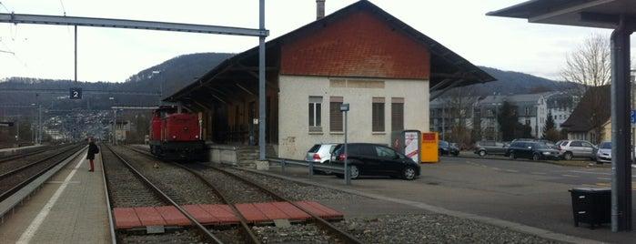 Bahnhof Wildegg is one of Bahnhöfe Top 200 Schweiz.