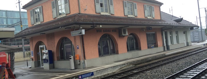 WSB Aarau Bahnhof is one of Bahnhöfe Top 200 Schweiz.