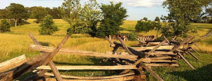 Manassas National Battlefield Park is one of Mid-Atlantic tourist sites..