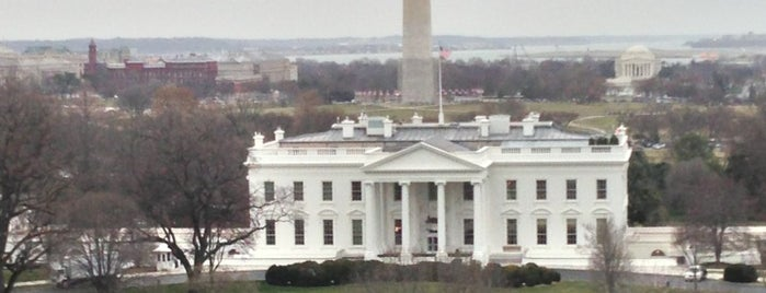 The White House is one of 36 hours in...Washington DC.
