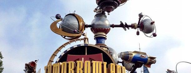 Tomorrowland is one of Disneyland.