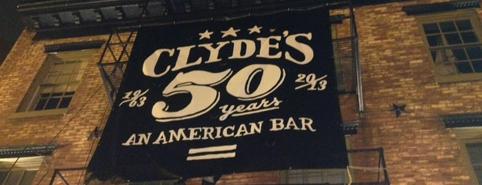 Clyde's of Georgetown is one of Favorite DC Restaurants.