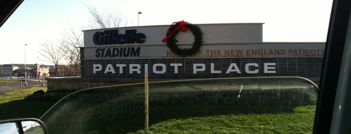 Patriot Place is one of ** my list **.