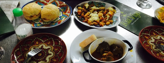 Ría de Vigo is one of los mejores sitios para comer en Alicante.