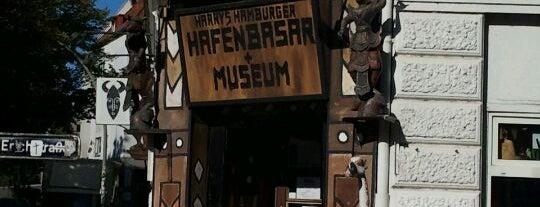 Harry's Hamburger Hafenbasar is one of Unsere TOP Empfehlungen für Hamburg.