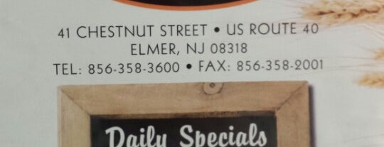 Elmer Diner is one of The Best New Jersey Diners.