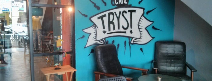 Tryst is one of Must Visit Coffee Places ☕.
