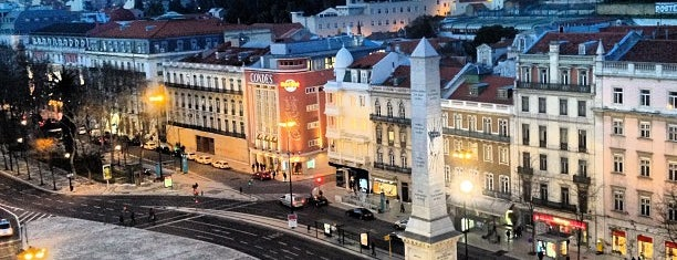 Praça dos Restauradores is one of Cantinhos de LX.