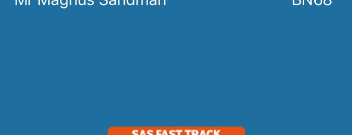 (SK) SAS - Scandinavian Airlines 162 is one of Airport Flights.