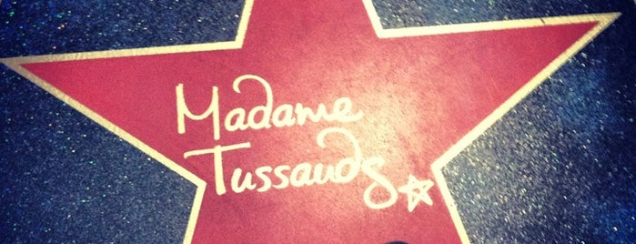 Madame Tussauds is one of London City Badge - London Calling.