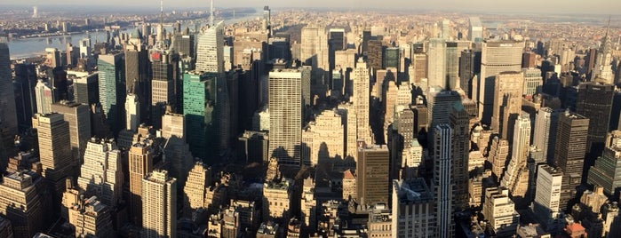 Empire State Building 86th Floor Observation Deck is one of Architecture - Great architectural experiences NYC.