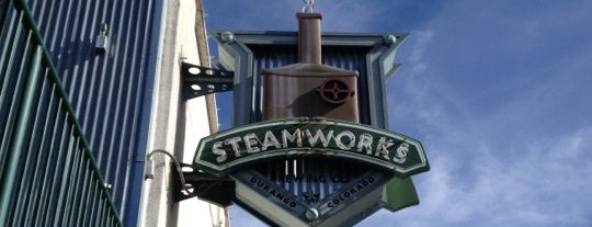 Steamworks Brewing Company is one of Colorado's Music Venues.