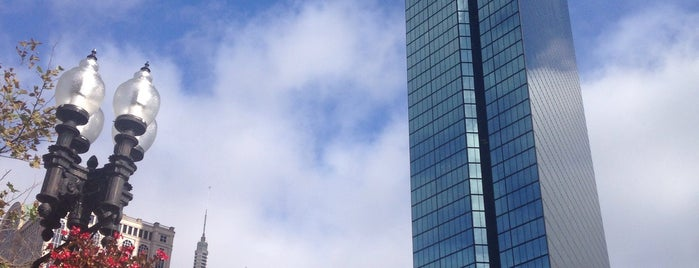 John Hancock Tower is one of work.