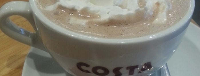 Costa Coffee is one of Bangalore Cafes.