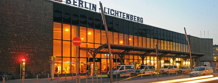 Bahnhof Berlin-Lichtenberg is one of Besuchte Berliner Bahnhöfe.