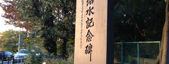 多摩川治水記念碑 is one of 歴史(明治~).