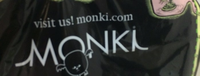Monki is one of Gurney Paragon.
