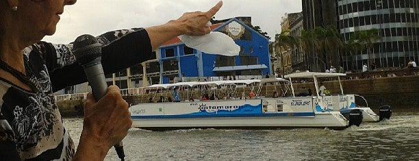 Passeio de Catamarã is one of #dicas de lugares legais no Recife.