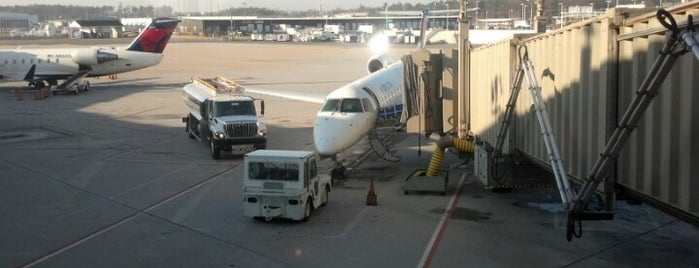 Concourse B - Richmond International Airport is one of Favorite Places.