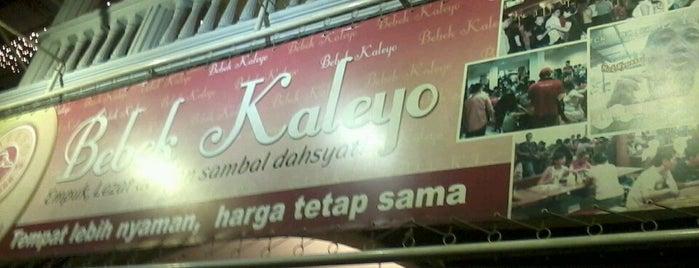 Bebek Kaleyo is one of Jakarta.
