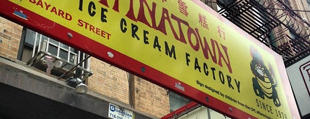 The Original Chinatown Ice Cream Factory 華埠雪糕行 is one of Must-visit Ice Cream Shops in New York.