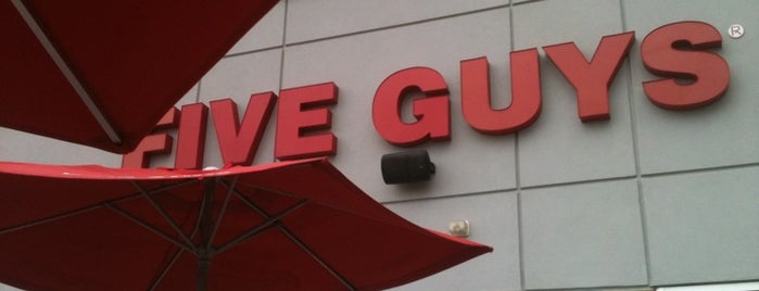 Five Guys is one of Favorites.